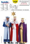 2438 Burda Pattern: Children's Costumes - The Three Kings